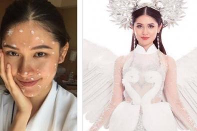 Á hậu Thùy Dung liên tiếp 'gặp họa' trước thềm chung kết Miss International 2017