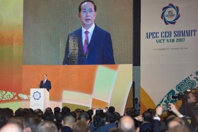 APEC 2017: Chủ tịch nước Trần Đại Quang nêu ba vấn đề lớn cần giải quyết