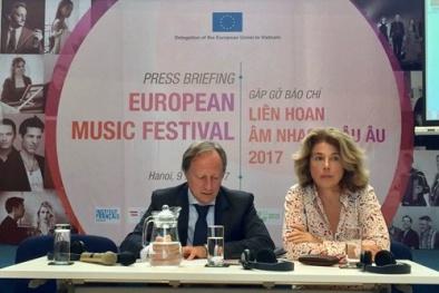 Bữa tiệc âm nhạc đậm chất châu Âu trình diễn miễn phí cho công chúng