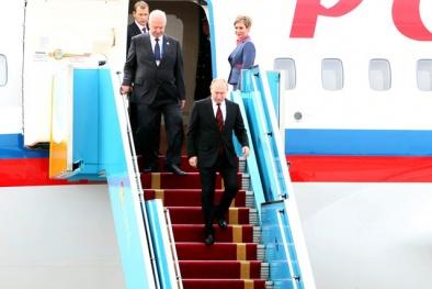 APEC 2017: Trực tiếp lễ đón Tổng thống Nga Vladimir Putin đến Đà Nẵng