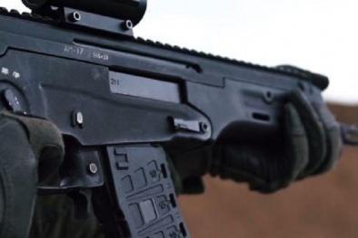 Lính đặc nhiệm Nga 'bá đạo' với súng trường 'không tiếng động'