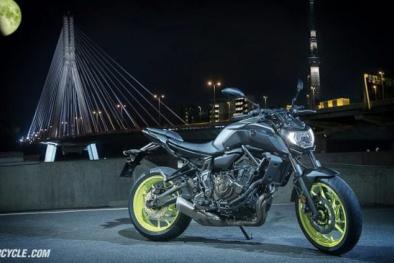 'Chốt giá' 170 triệu đồng, mô tô Yamaha MT-07 2018  có gì đặc biệt?