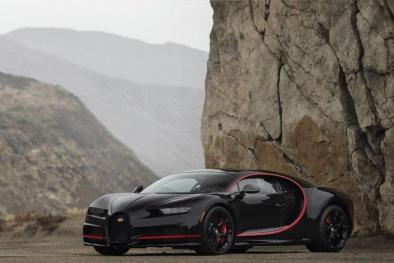 Chiêm ngưỡng Bugatti Chiron phiên bản 'Người dơi' được rao bán với giá 4 triệu USD