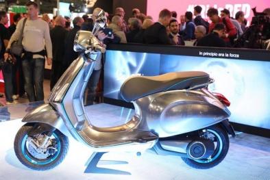 Mẫu xe điện Vespa Elettrica đầu tiên của Piaggio có gì hấp dẫn?