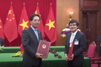 Việt Nam - Trung Quốc ký kết thỏa thuận hợp tác về An toàn hạt nhân