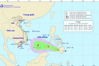 Dự báo thời tiết ngày 17/11: Không khí lạnh và áp thấp nhiệt đới gần biển Đông