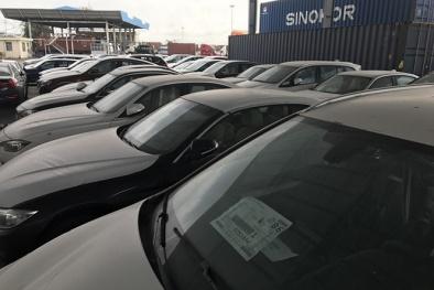 Lộ số tiền kho bãi hơn nửa tỷ/tháng của lô xe sang BMW ở cảng