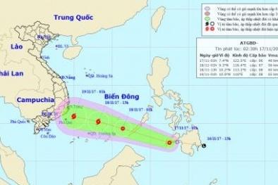 Tin tức mới nhất về áp thấp nhiệt đới có khả năng mạnh lên thành bão