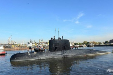 Tàu ngầm Argentina mất tích: 44 thành viên có khả năng sống sót