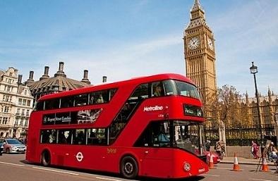 Kinh ngạc xe buýt chạy bằng bã cà phê trên đường phố London