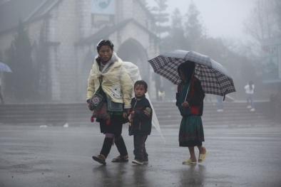 Dự báo thời tiết: Không khí lạnh gây mưa lớn trên diện rộng