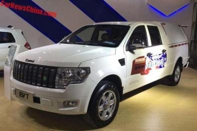 Cận cảnh ô tô tải điện Trung Quốc mới ra mắt giá khoảng 594 triệu đồng