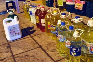 Nhộn nhịp thị trường nước rửa  bát kém chất lượng giữa lòng Thủ đô