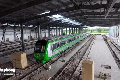 Đưa thêm 2 đoàn tàu về dự án Cát Linh-Hà Đông
