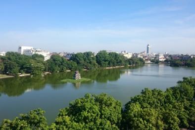 Hà Nội: Cải tạo nước hồ Gươm bằng dùng nước giếng khoan
