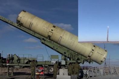 Tên lửa mạnh nhất của Nga ra oai sức mạnh khiến đối phương 'ngộp thở'