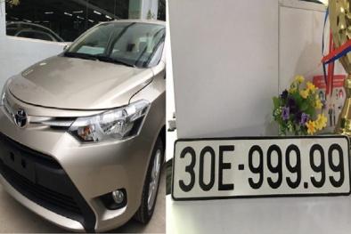 Nhờ biển 'ngũ quý' 9, Toyota Vios bán cao gấp 3 lần giá mua