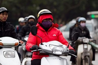 Không khí lạnh tràn về, nhiệt độ có thể xuống dưới 10 độ C