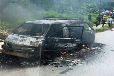 Nguyên nhân khiến ô tô bị chập điện có thể cháy rụi trong tích tắc