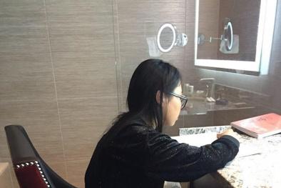 Phương Mỹ Chi lên tiếng việc lưu diễn Mỹ 6.000 USD vẫn ngồi học trong nhà vệ sinh