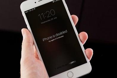 Thủ thuật khắc phục mở khóa iPhone khi quên mật khẩu dễ như ăn kẹo