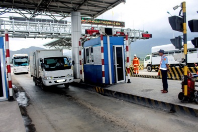 Không có tiền 100 đồng trả tài xế: BOT Ninh An buộc phải xả trạm