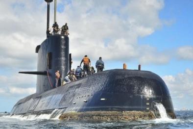 Tin tức mới nhất về tàu ngầm chở 44 người mất tích ở Argentina
