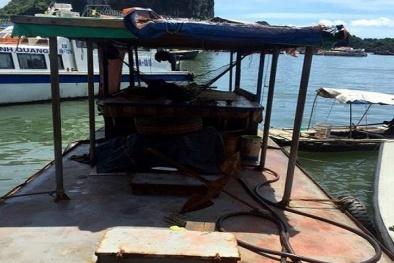 Quảng Ninh: Bắt giữ gần 3 nghìn lít dầu không rõ nguồn gốc