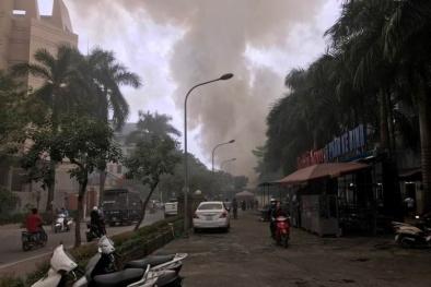 Tin mới về vụ cháy quán cà phê mái cọ 2 tầng ở Hà Nội