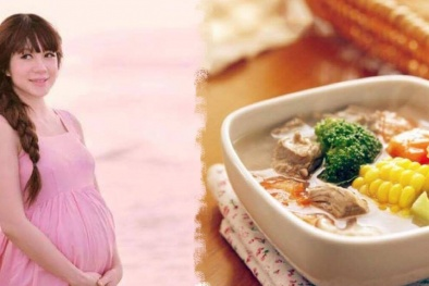 5 Món canh bổ dưỡng mẹ bầu nên ăn mỗi ngày để con khỏe mạnh, thông minh