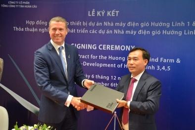 Hợp tác xây dựng trang trại điện gió ở Quảng Trị
