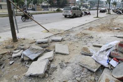 Chủ tịch TP. Hà Nội làm rõ vấn đề lát đá vỉa hè