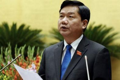 UBTV Quốc hội đồng thuận việc cho thôi đại biểu Quốc hội với ông Đinh La Thăng