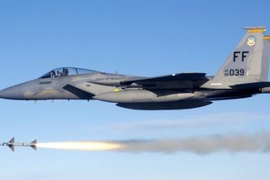 Vũ khí laser trên tiêm kích F-15 giúp Mỹ đứng đầu thế giới về vũ khí
