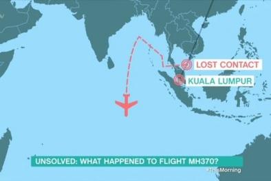 Tin tức mới nhất về nguyên nhân máy bay MH370 mất tích