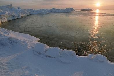 Bắc Cực nhiệt độ tăng mạnh, băng tan chảy nhanh nhất trong 1.500 năm