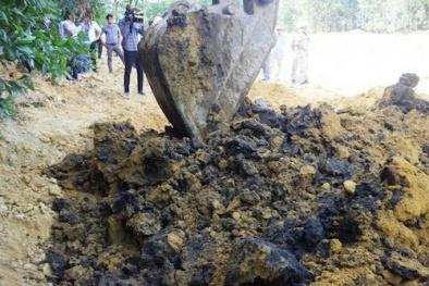 Formosa bị phạt 540 triệu đồng vì chôn chất thải trong trang trại