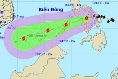 Bão Kai Tak tiến sát biển Đông, diễn biến phức tạp