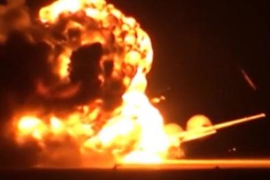 Vũ khí hủy diệt từ bầu trời của Nga khiến mục tiêu bị thổi bay