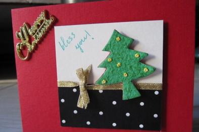 Cách làm thiệp Giáng sinh handmade đẹp lung linh tặng người thân