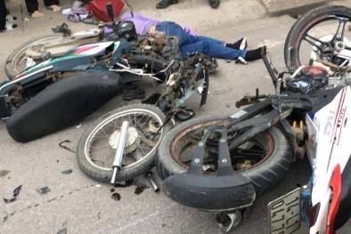 Quảng Ninh: Hai xe máy đối đầu 'kinh hoàng' khiến 3 người thương vong
