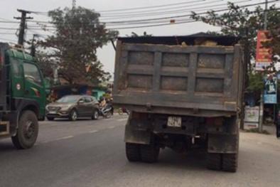 Băng qua đường, một học sinh lớp 2 ở Quảng Ninh bị xe tải đâm tử vong