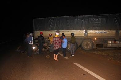 Gia Lai: Tai nạn liên hoàn làm 1 người chết, 3 người bị thương nặng