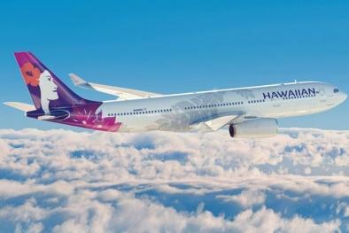 Kỳ lạ: Chuyến bay khởi hành đúng giao thừa 2018 hạ cánh vào năm 2017