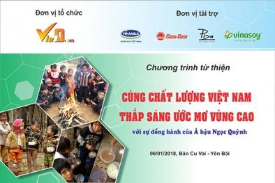Cùng Chất lượng Việt Nam thắp sáng ước mơ vùng cao