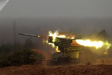 'Quái thú' trong kho vũ khí Nga nhả đạn như mưa 'nướng chín' mục tiêu chớp nhoáng