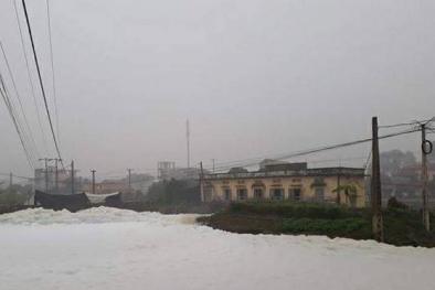 Hà Nam: Hé lộ nguyên nhân gây 'sốc' về dòng sông 'tuyết' độc