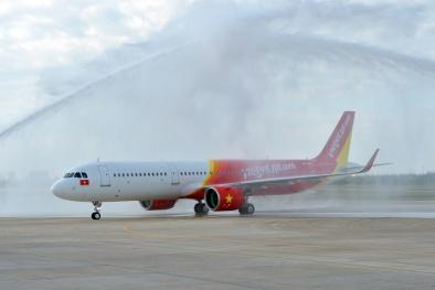 Vietjet Air nhận hàng loạt 'chiến binh' thế hệ mới nhất của Airbus