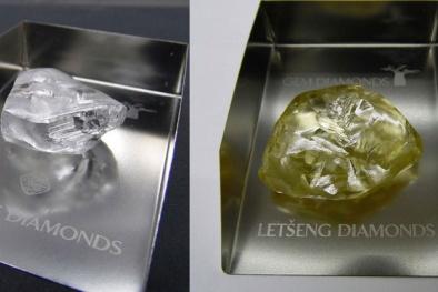 Nam Phi tìm thấy 2 viên kim cương 'khủng' hơn 100 carat