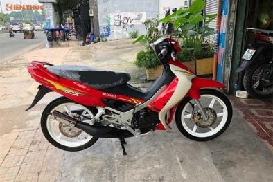 'Phát sốt' xe máy Suzuki rao giá 888 triệu bằng ô tô 'xịn, mới coóng'